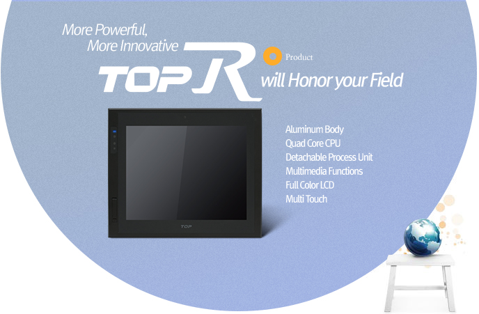 no.1 Touch Panel in the world TOP Series